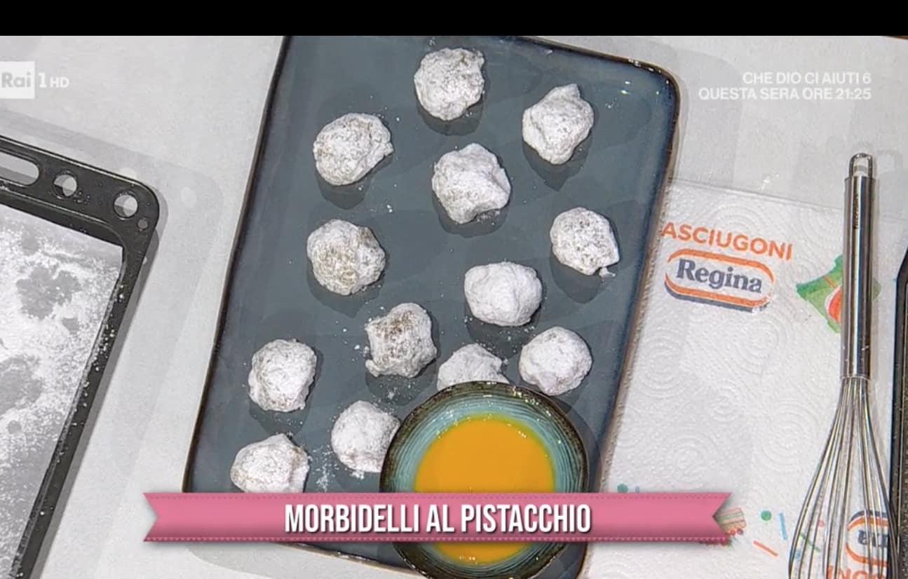Morbidelli al pistacchio, la ricetta dei dolcetti di Fabio Potenzano
