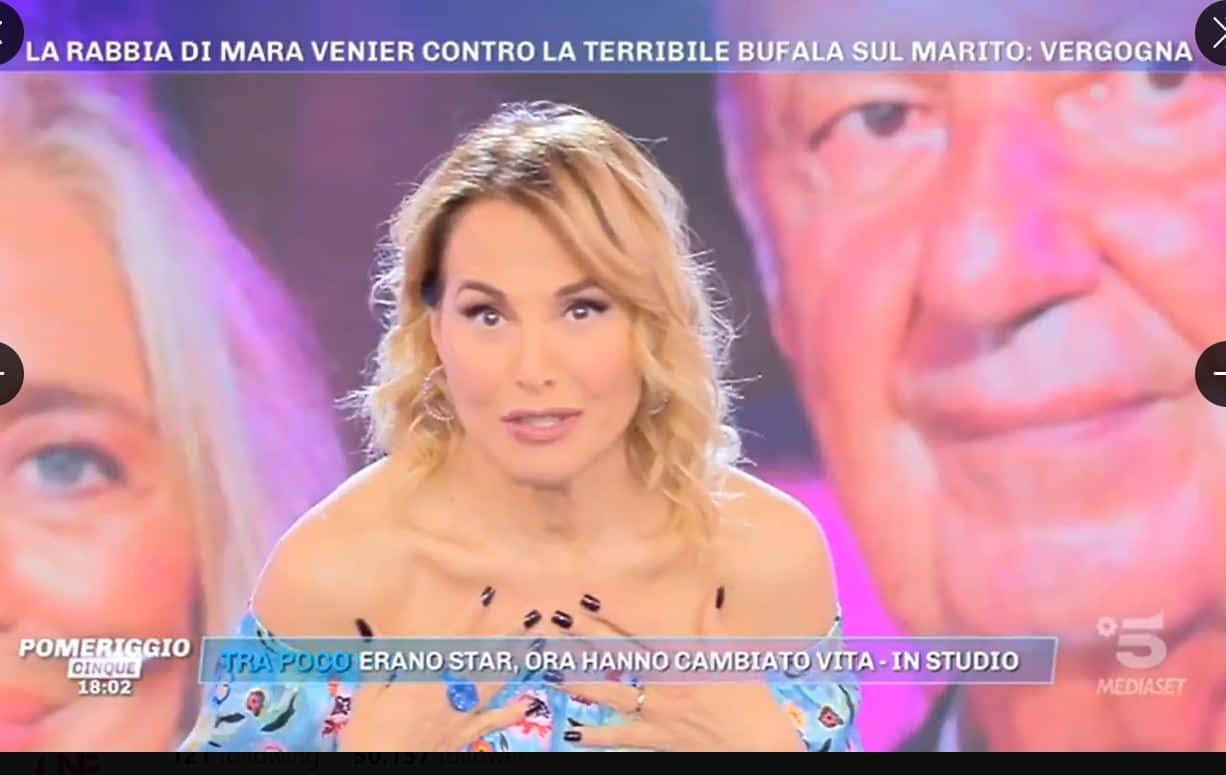 Barbara d'Urso a tutta Mara Venier a Pomeriggio 5: mostra Domenica IN e si invita in Rai