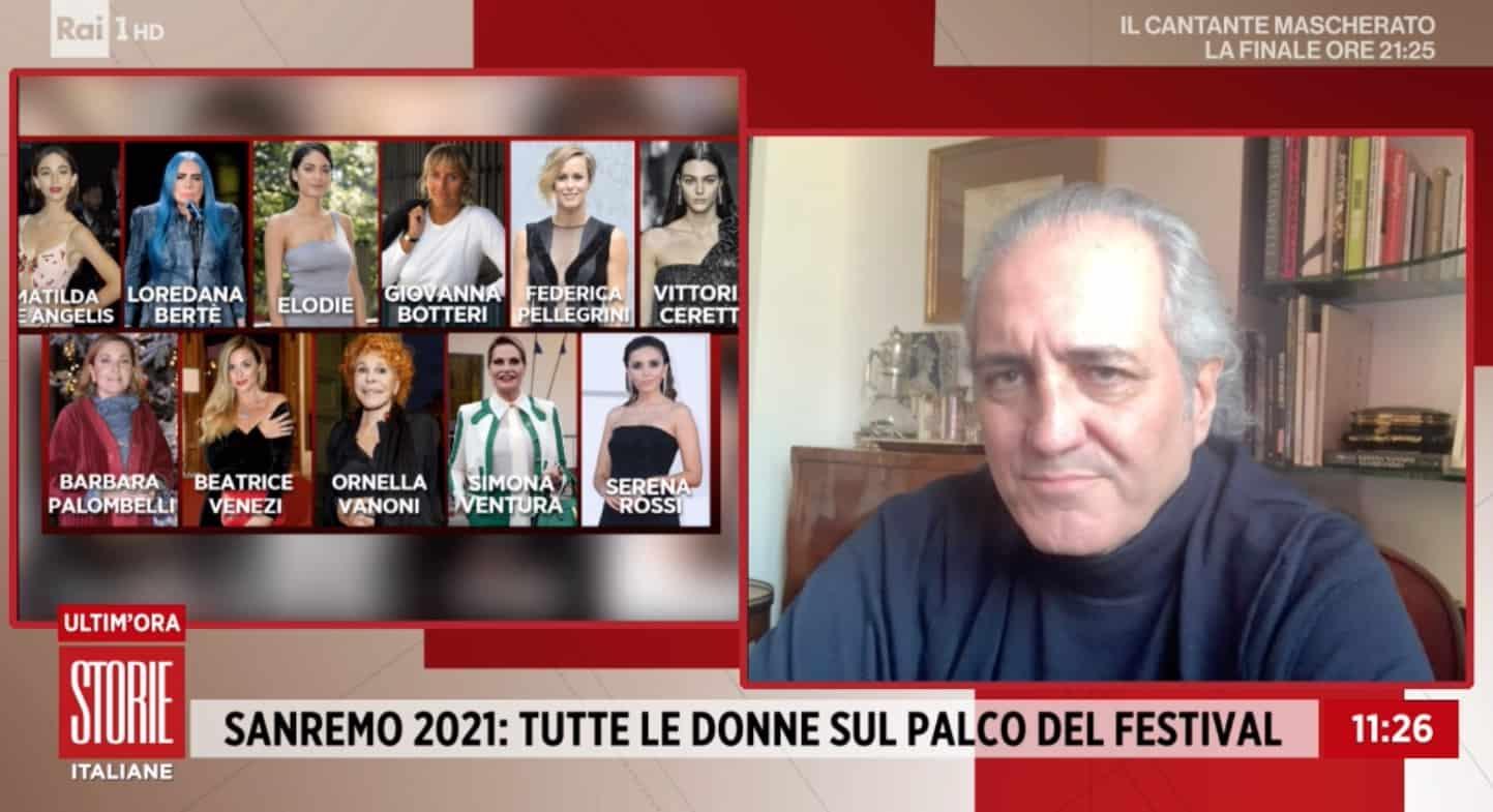 Giovanni Terzi emozionato per la partecipazione di Simona Ventura a Sanremo 2021 (Foto)