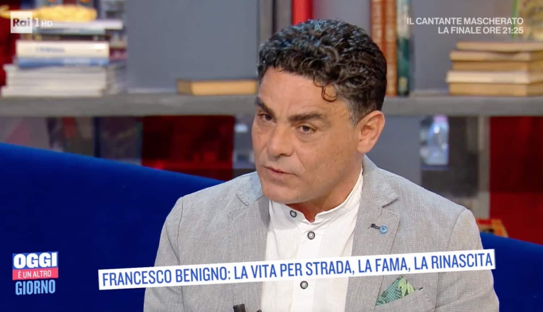 Francesco Benigno ha perdonato il padre che gli metteva le catene e picchiava anche sua madre