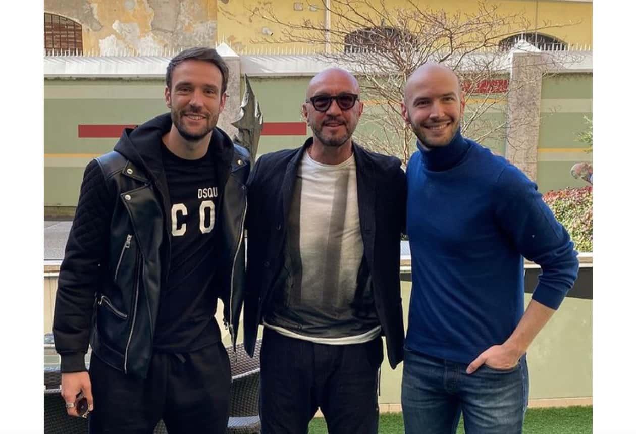 Nicolò e Andrea Zenga hanno incontrato papà Walter