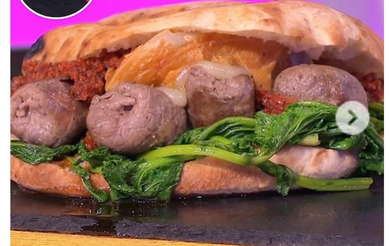 Hamburger pugliese, la ricetta del panino di Vittorio Gucci