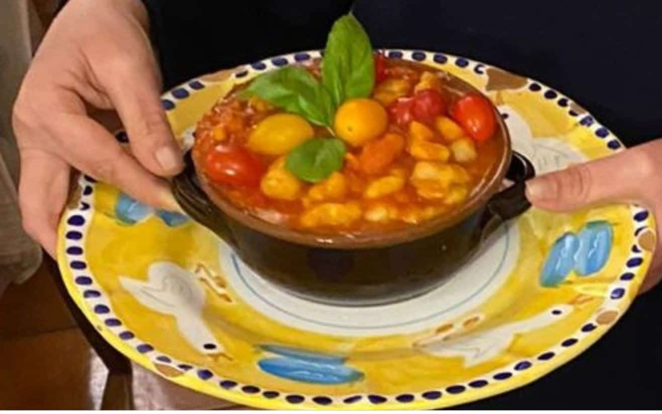 Gnocchi di patate con sughetto ai tre pomodori: ricetta Angelica Sepe