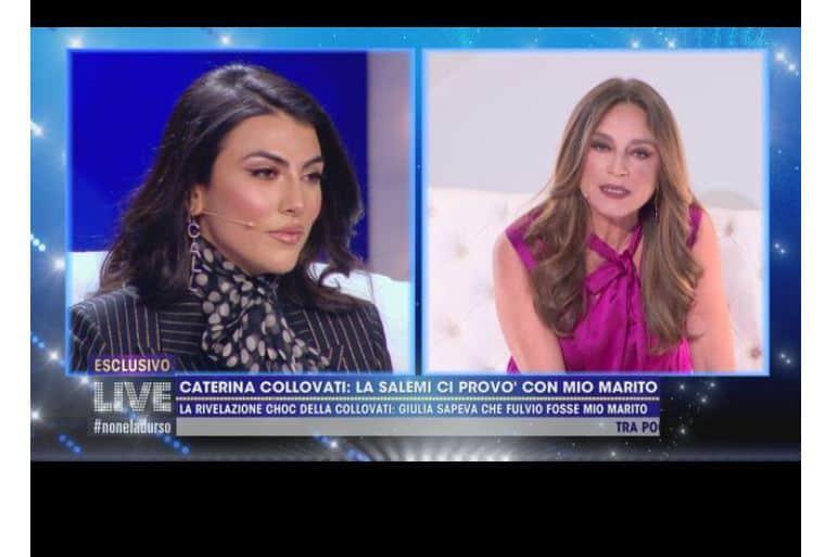 Da Live le accuse shock di Caterina Collovati a Giulia Salemi: importuna gli uomini sposati