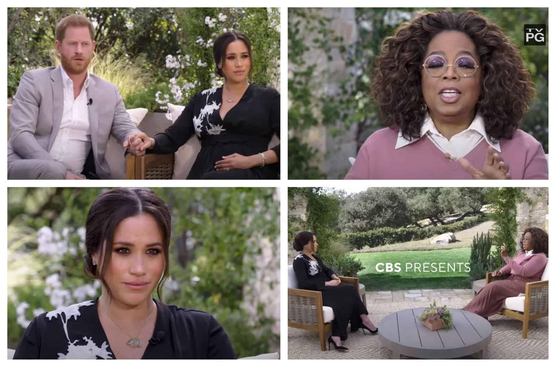 Oprah intervista Harry e Meghan e le anticipazioni promettono rivelazioni scioccanti