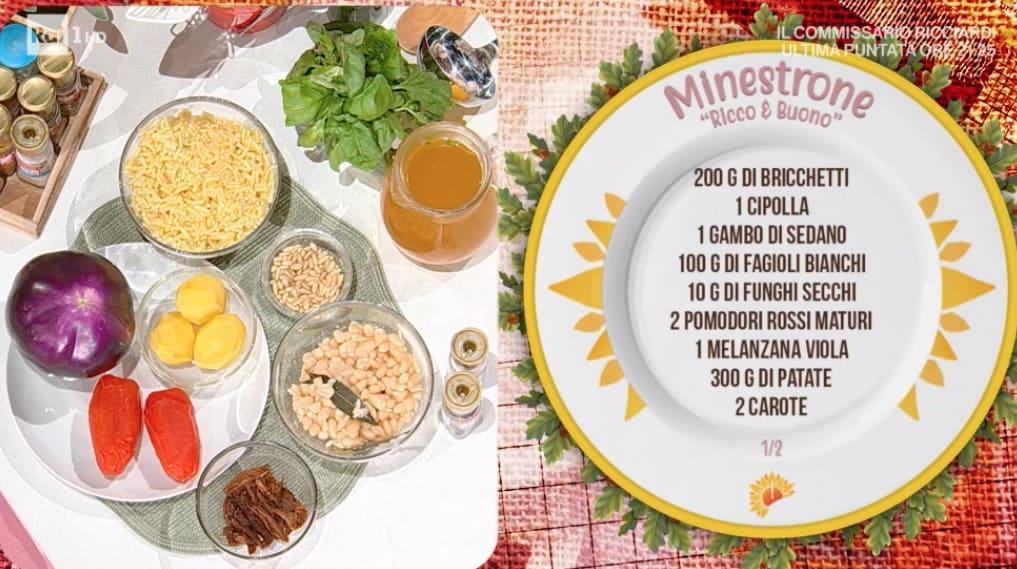 Minestrone ricco e buono, la ricetta del lunedì di Ivano Ricchebono