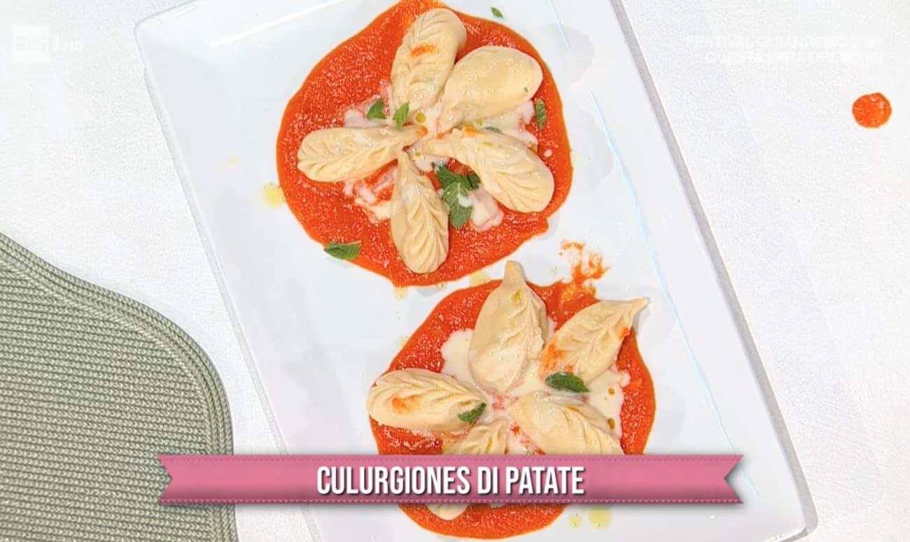 Culurgiones di patate, la ricetta di Michele Farru