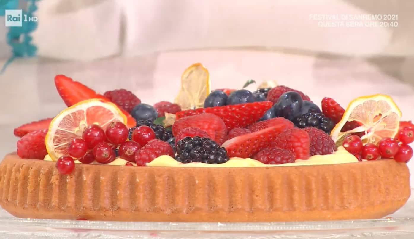 Torta di frutta con crema al limone, la ricetta di Zia Cri