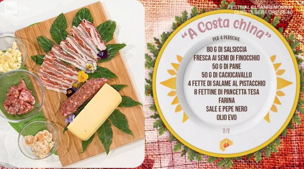 A costa china di maiale, la ricetta di Fabio Potenzano