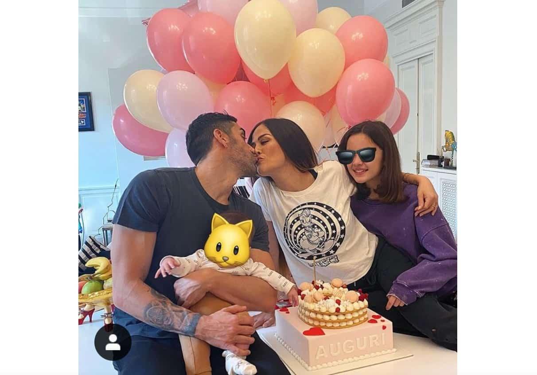 Giorgia Palmas festeggia il compleanno con la sorpresa di Filippo Magnini (Foto)