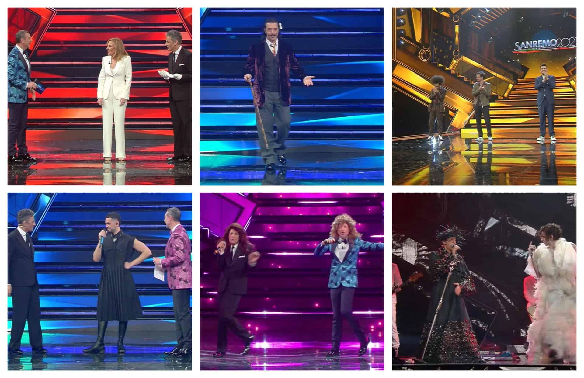 La quarta serata di Sanremo 2021 è la migliore: Amadeus miracolosamente chiude prima