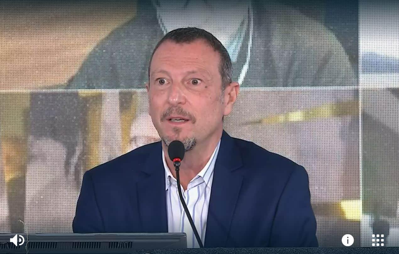 "Amadeus conferma: ""Non ci sarà un Sanremo AmaTer"""