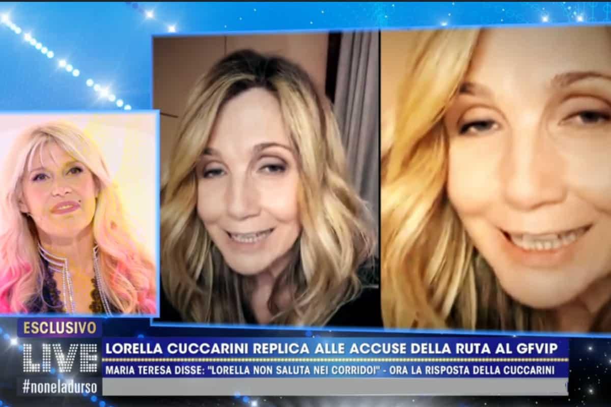 LIVE Non è la D'Urso: fra Lorella Cuccarini e Maria Teresa Ruta c'è antipatia? Il nuovo retroscena