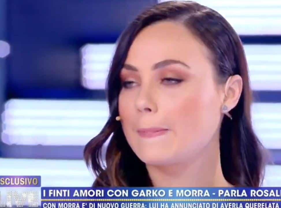 Rosalinda Cannavò e il suo Giuliano si sono incontrati? A Live tutta la verità