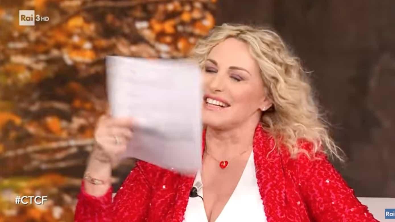 Antonella Clerici bellissima a Che tempo che fa tra caldane e altre verità (Foto)