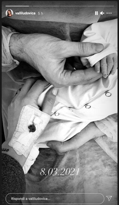 Ludovica Valli è mamma: due i nomi scelti per sua figlia (Foto)