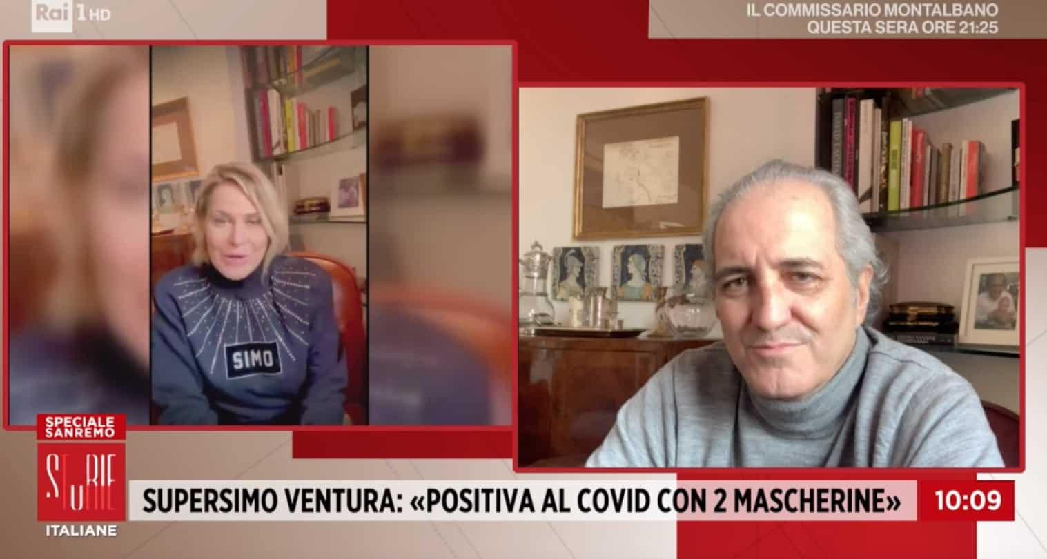 Simona Ventura fa un appello, non sa come si è contagiata: Giovanni Terzi e la figlia positivi