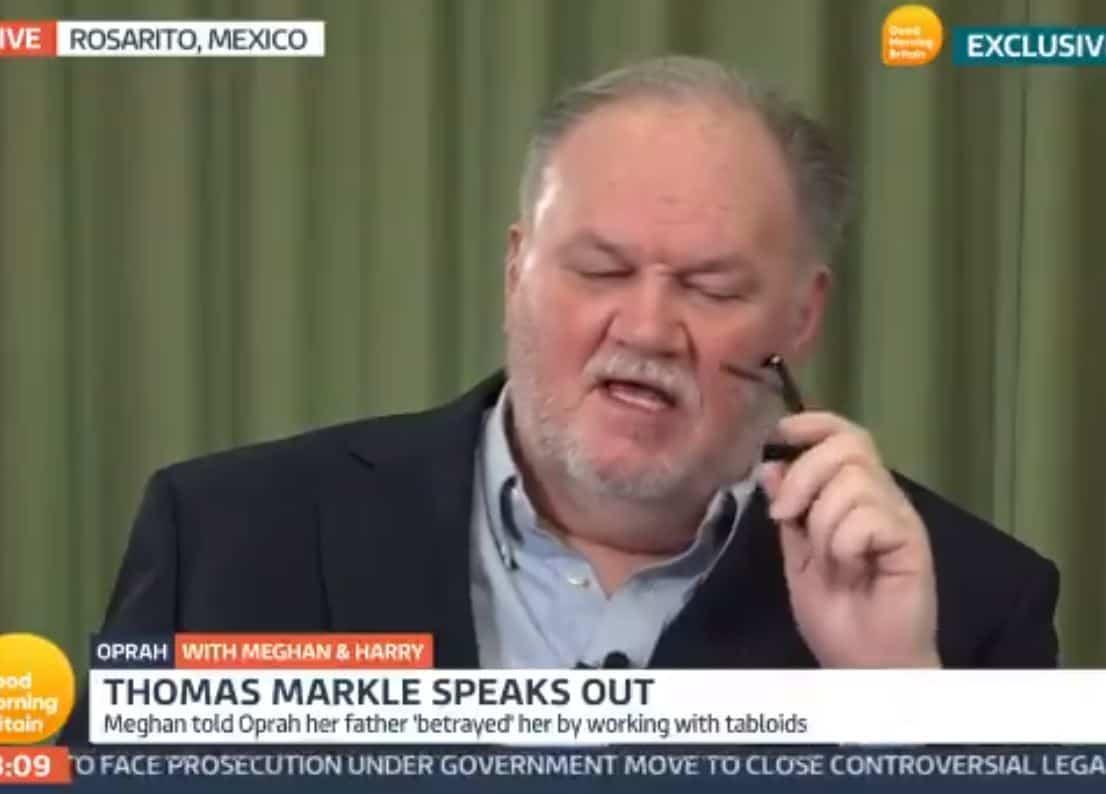 Thomas Markle si schiera contro Meghan ed Harry: i britannici non sono razzisti
