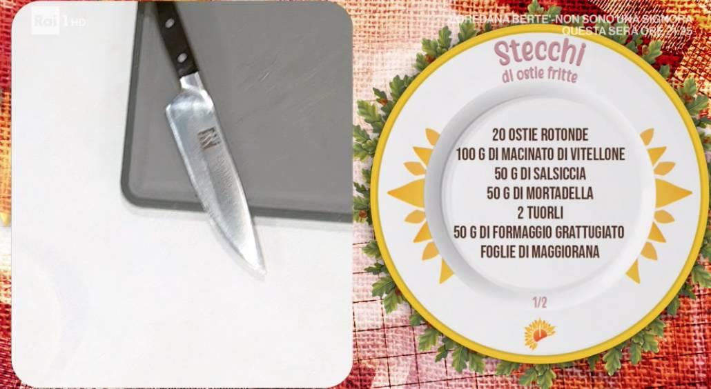 Stecchi di ostie fritte, che gustosa ricetta di Ivano Ricchebono