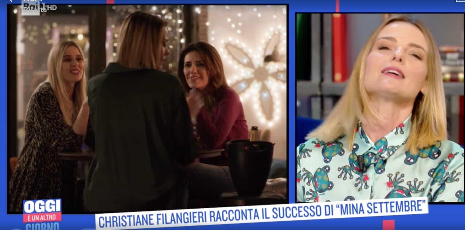 Christiane Filangieri si commuove per l'amicizia con Serena Rossi (Foto)