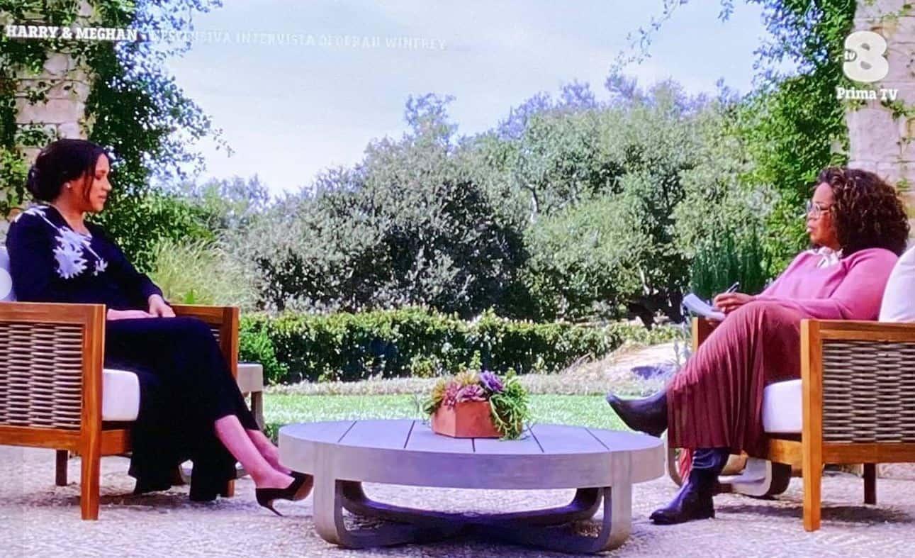 Gli ascolti dell'intervista di Harry e Meghan in Italia: i numeri di Tv8