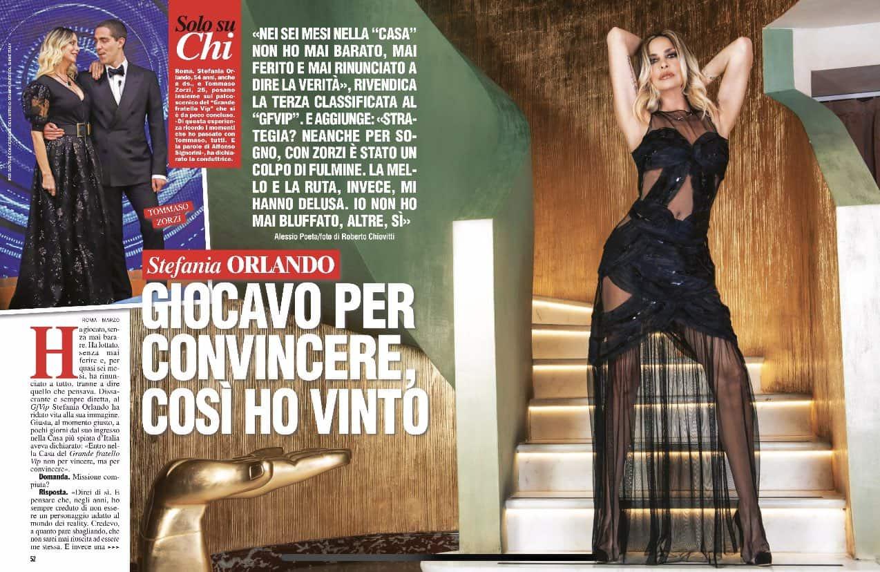 Il GF VIP 5 di Stefania Orlando: dall'amicizia con Zorzi alle delusioni più grandi