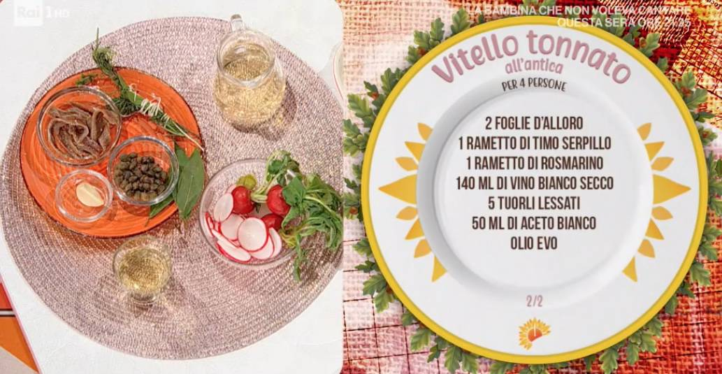 Vitello tonnato senza maionese, la ricetta antica di Fabrizio Rebollini