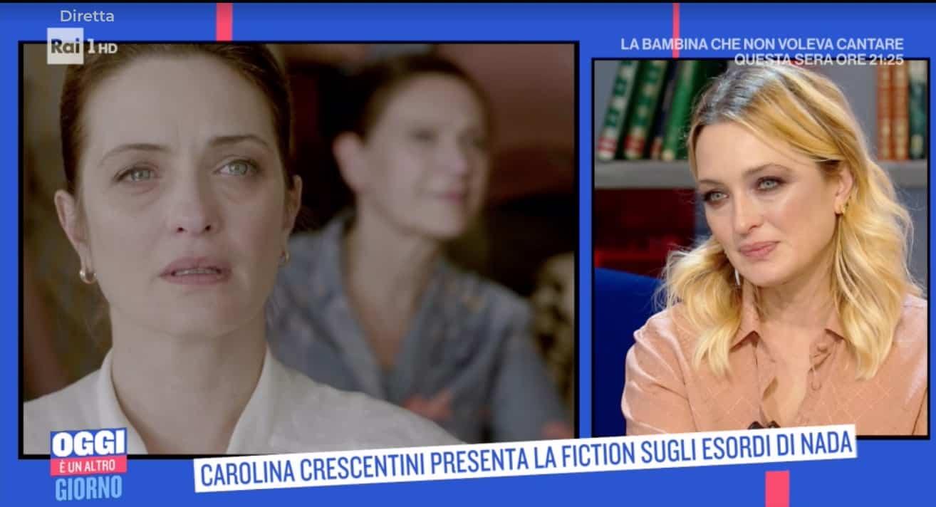 Carolina Crescentini è Viviana, la mamma di Nada nel film di stasera (Foto)