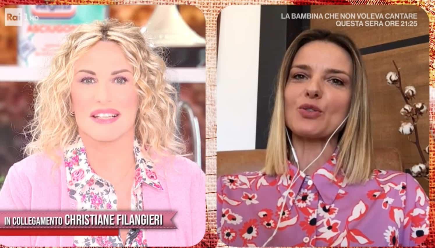 """Christiane Filangieri in prima linea per le donne: """"Studiate per essere libere"""""""