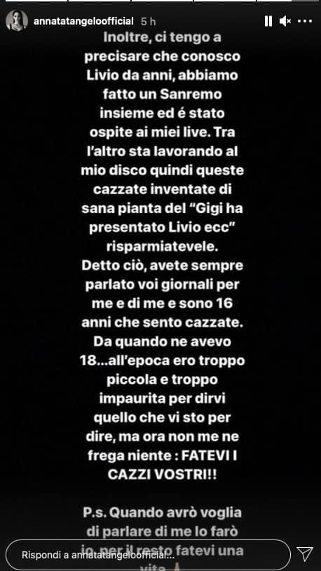 """Anna Tatangelo esplode: """"Come Gigi ho diritto a rifarmi una vita"""" (Foto)"""