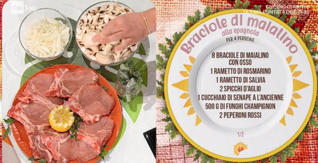 Braciole di maiale alla spagnola, ricetta di Daniele Persegani