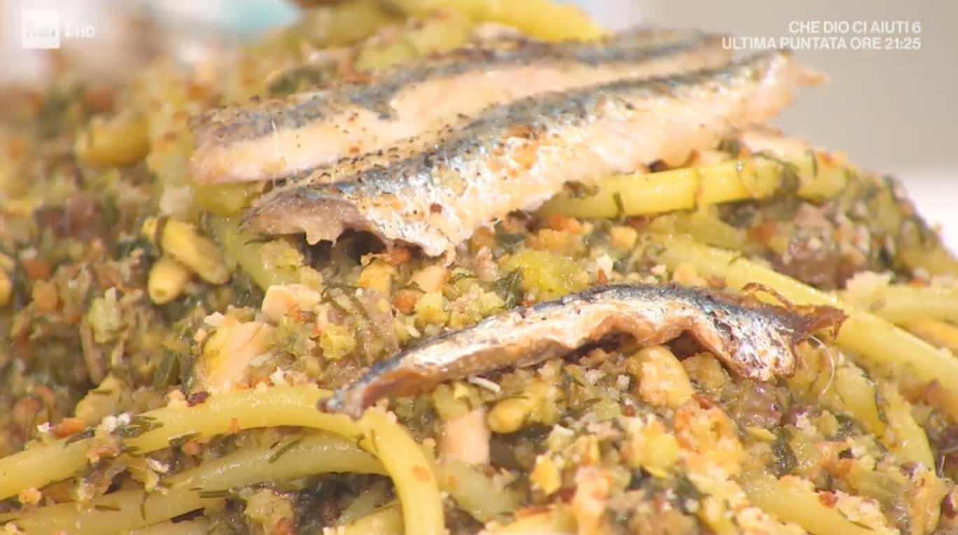 Pasta con le sarde, la ricetta di Fabio Potenzano