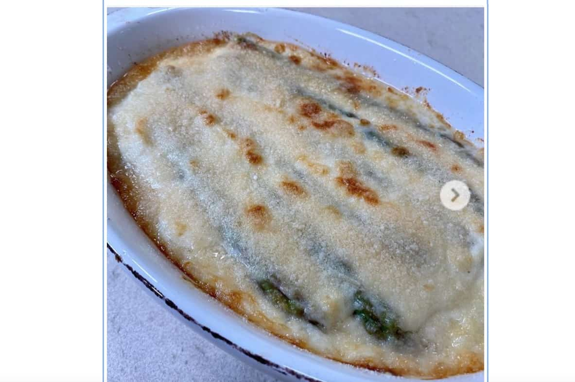 Parmigiana di asparagi, la ricetta che sorprende
