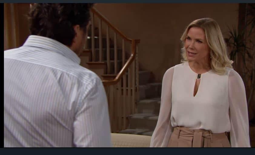 Beautiful anticipazioni: Brooke vuole fermare Thomas, come farà?