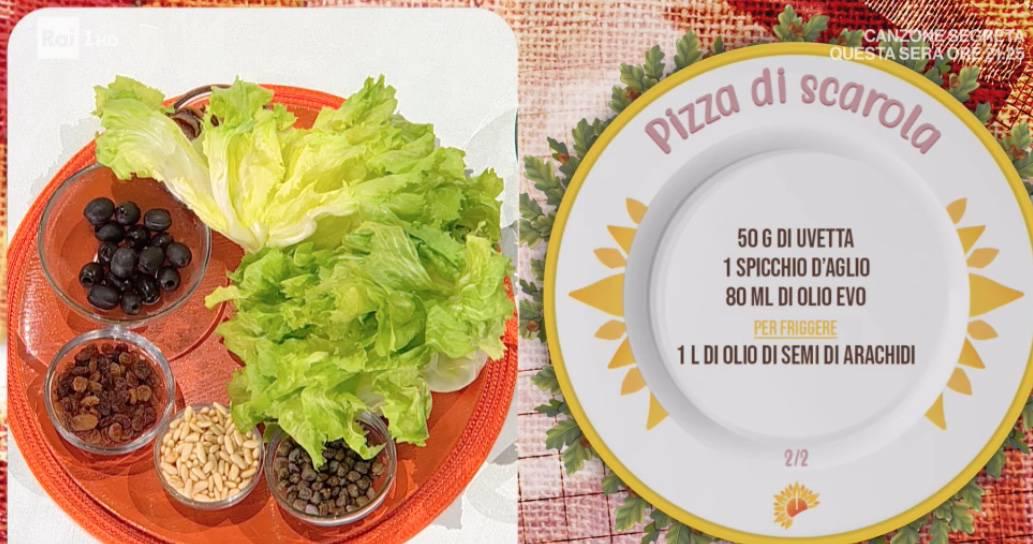 La pizza di scarola, la ricetta di Mauro Improta