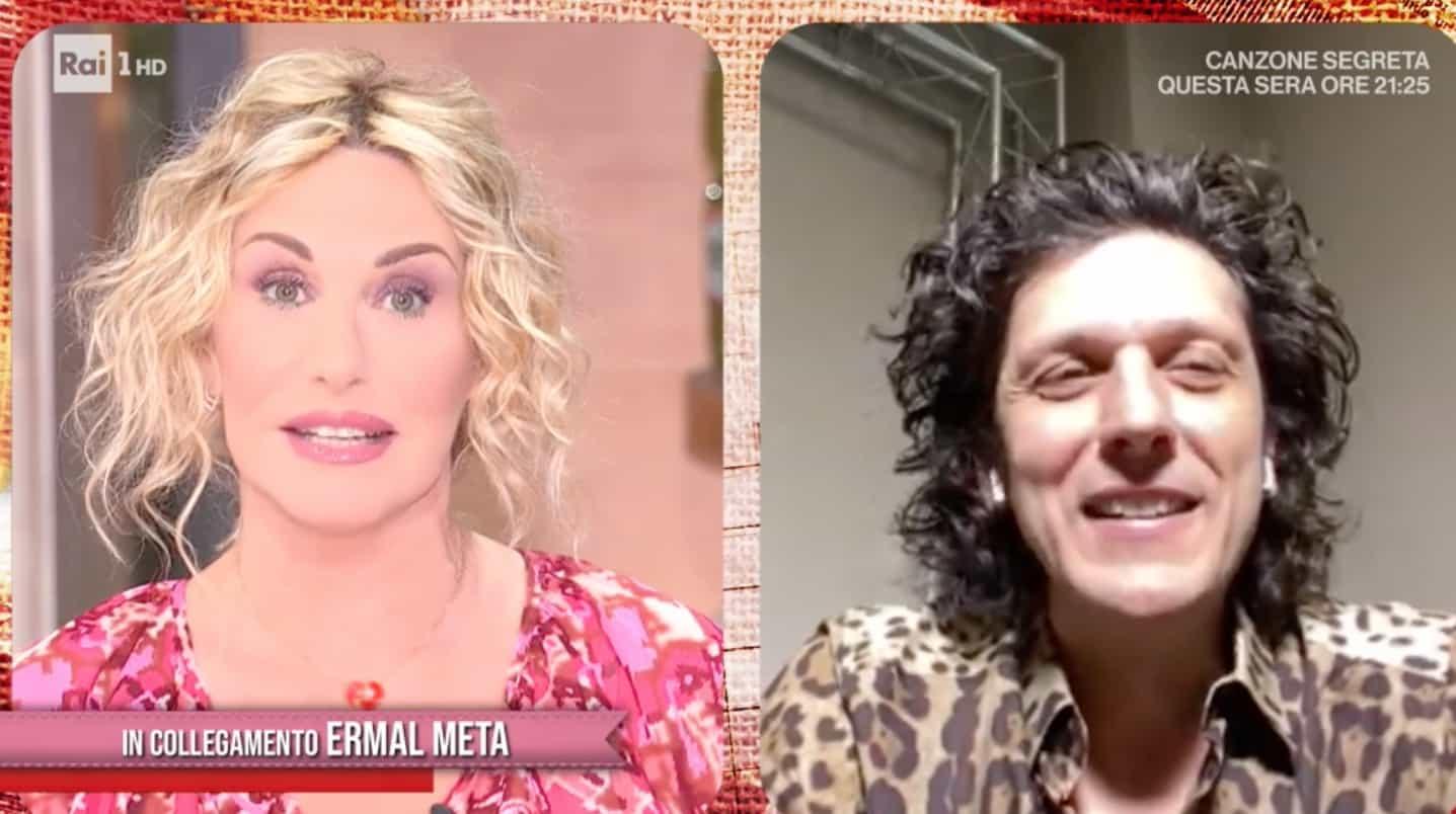 """Ermal Meta ospite di Antonella Clerici: """"Da ragazzino sognavo di vincere il premio della critica"""""""