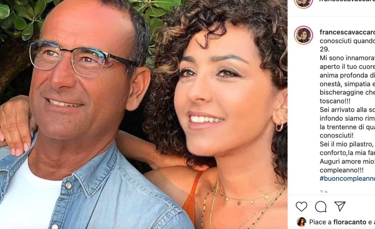Tanti auguri Carlo Conti: le parole della moglie commuovono Antonella Clerici (Foto)