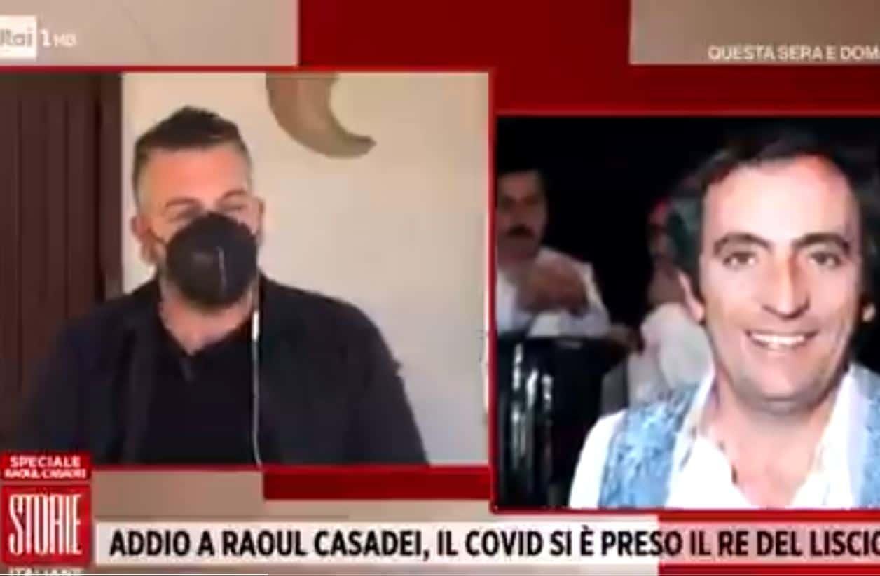 """Da Storie Italiane parla Mirko Casadei: """"Non vedeva l'ora di fare il vaccino"""""""