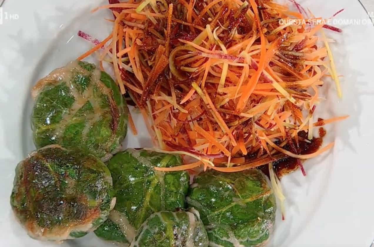 Vitello in crepinette, la ricetta delle polpette in rete di maiale di Antonella Ricci