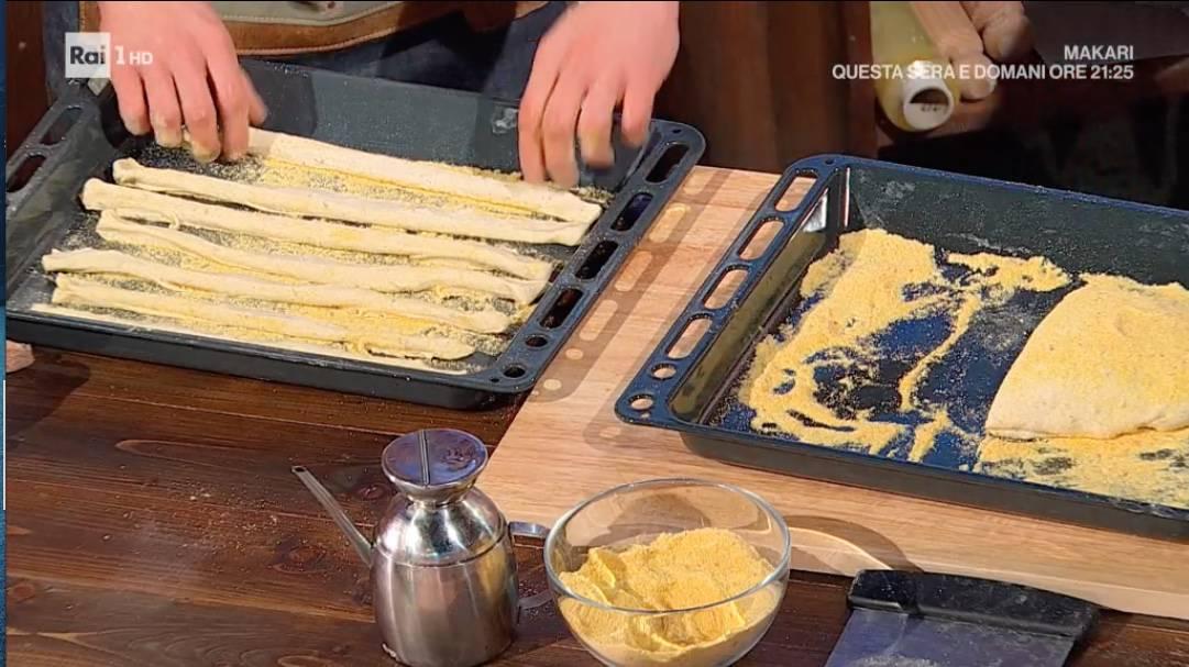 Ricette Fulvio Marino: grissini ai sette cereali