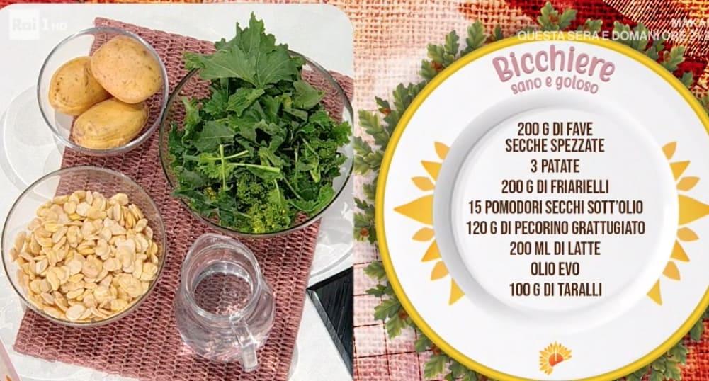 Bicchiere sano e goloso, la ricetta di Marco Bianchi
