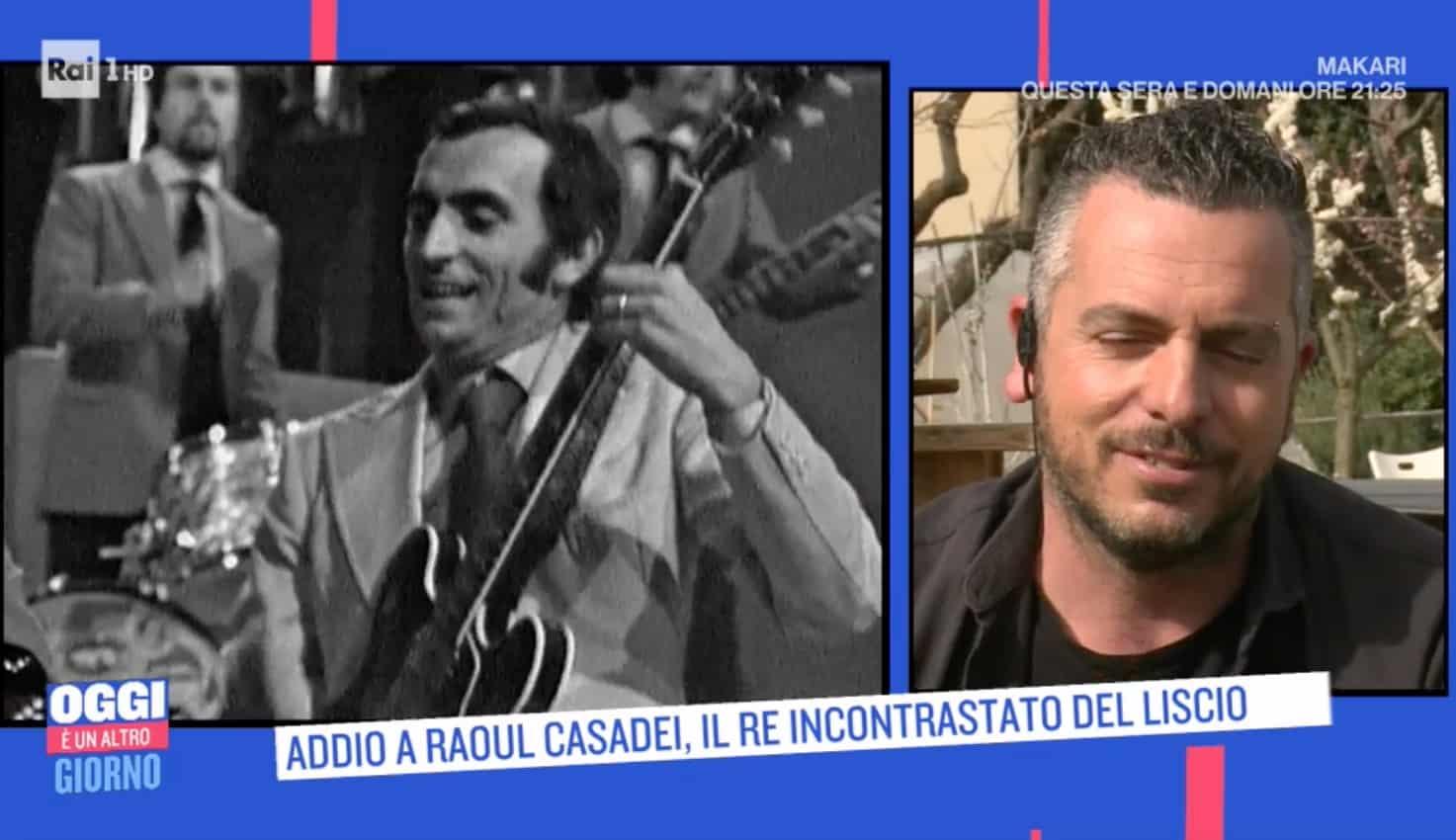 Niente funerale per Raoul Casadei ma una festa e Mirko spiega perché non lo chiama papà (Foto)