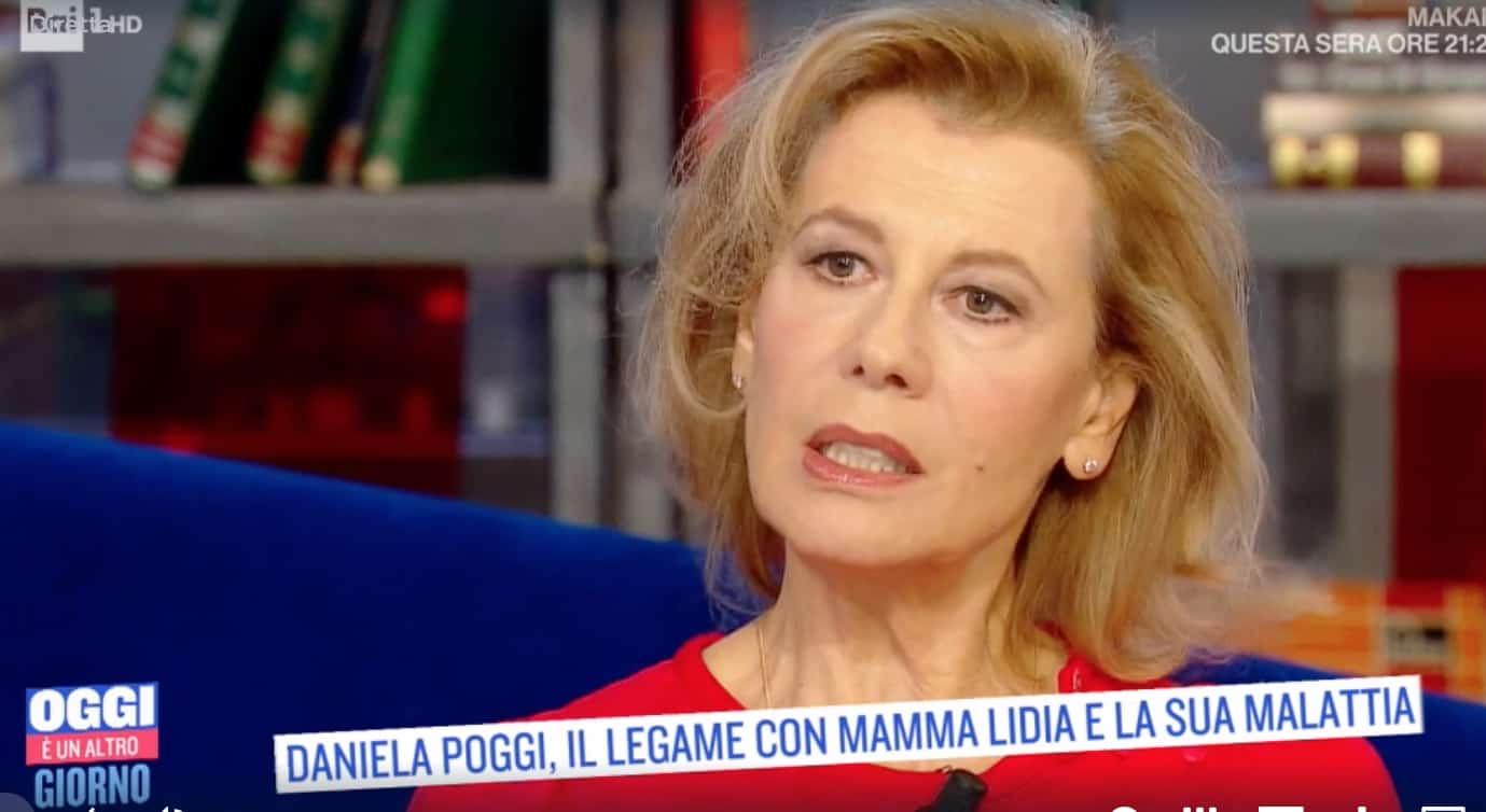 """Daniela Poggi: """"Non accettavo la malattia di mia madre"""""""