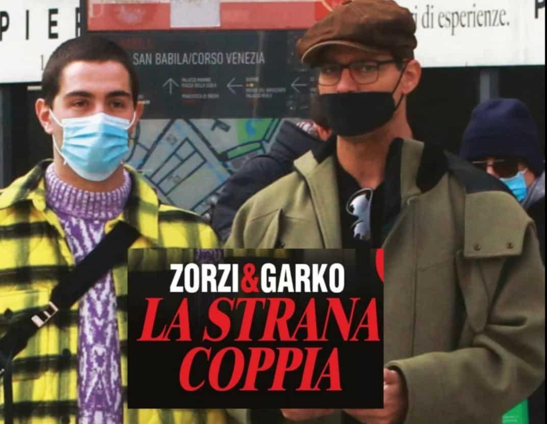 Gabriel Garko e Tommaso Zorzi la strana coppia su Chi e il gossip impazza