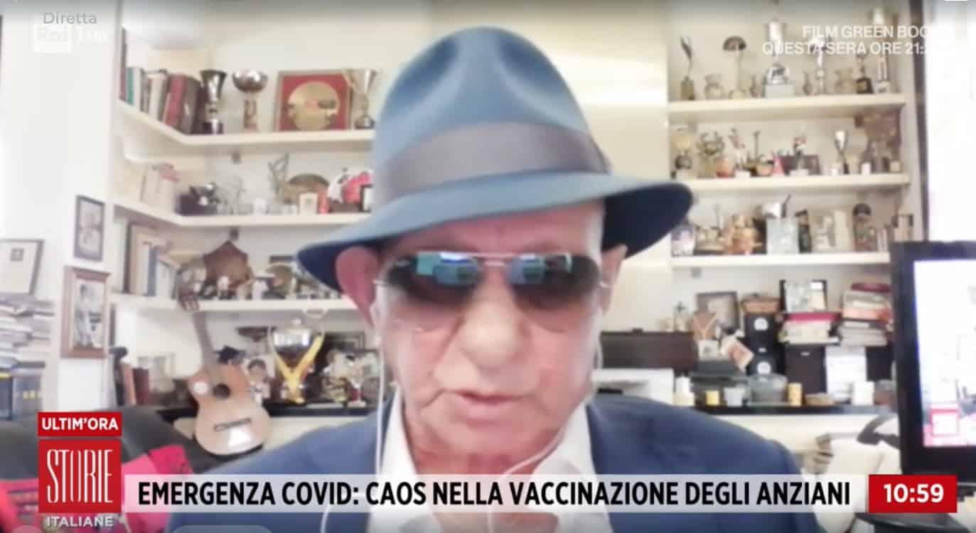 Nicola Di Bari a 80 anni e dopo due operazioni attende ancora il vaccino