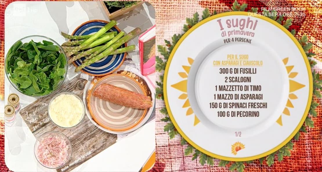 Ricette Zia Cri: prepariamo i sughi di primavera