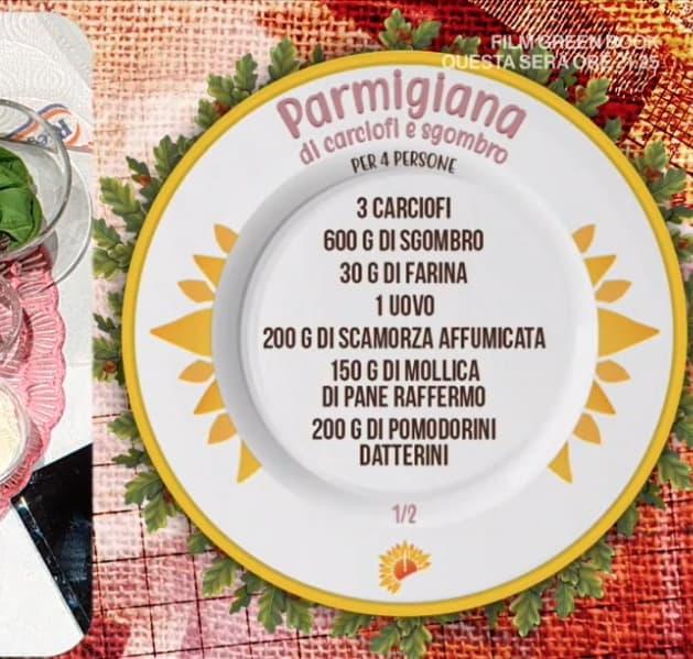 Parmigiana di carciofi e sgombro, la ricetta di Mattia e Mauro Improta
