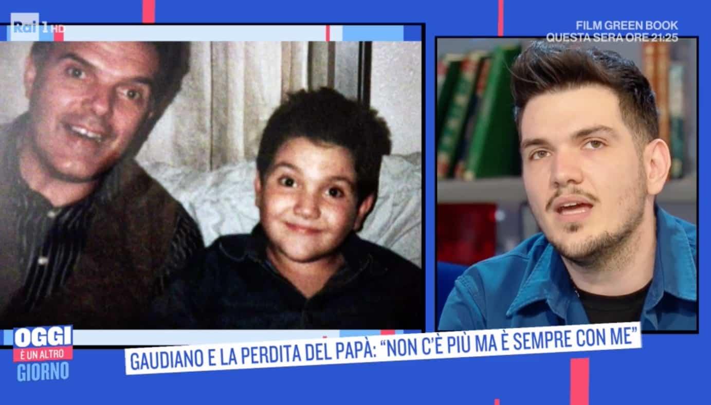 """Gaudiano racconta la malattia del padre: """"Era l'amore della mia vita"""""""