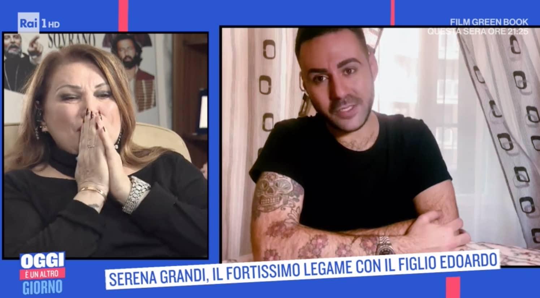 Il messaggio di Serena Grandi al figlio che non vede da tanto tempo (Foto)