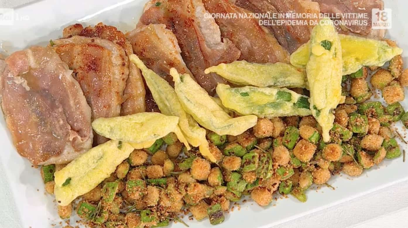 Saltimbocca alla romagnola con zucchine al rosmarino, ricetta di Zia Cri